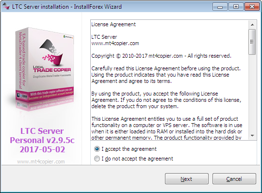 LTC Server EA Installation